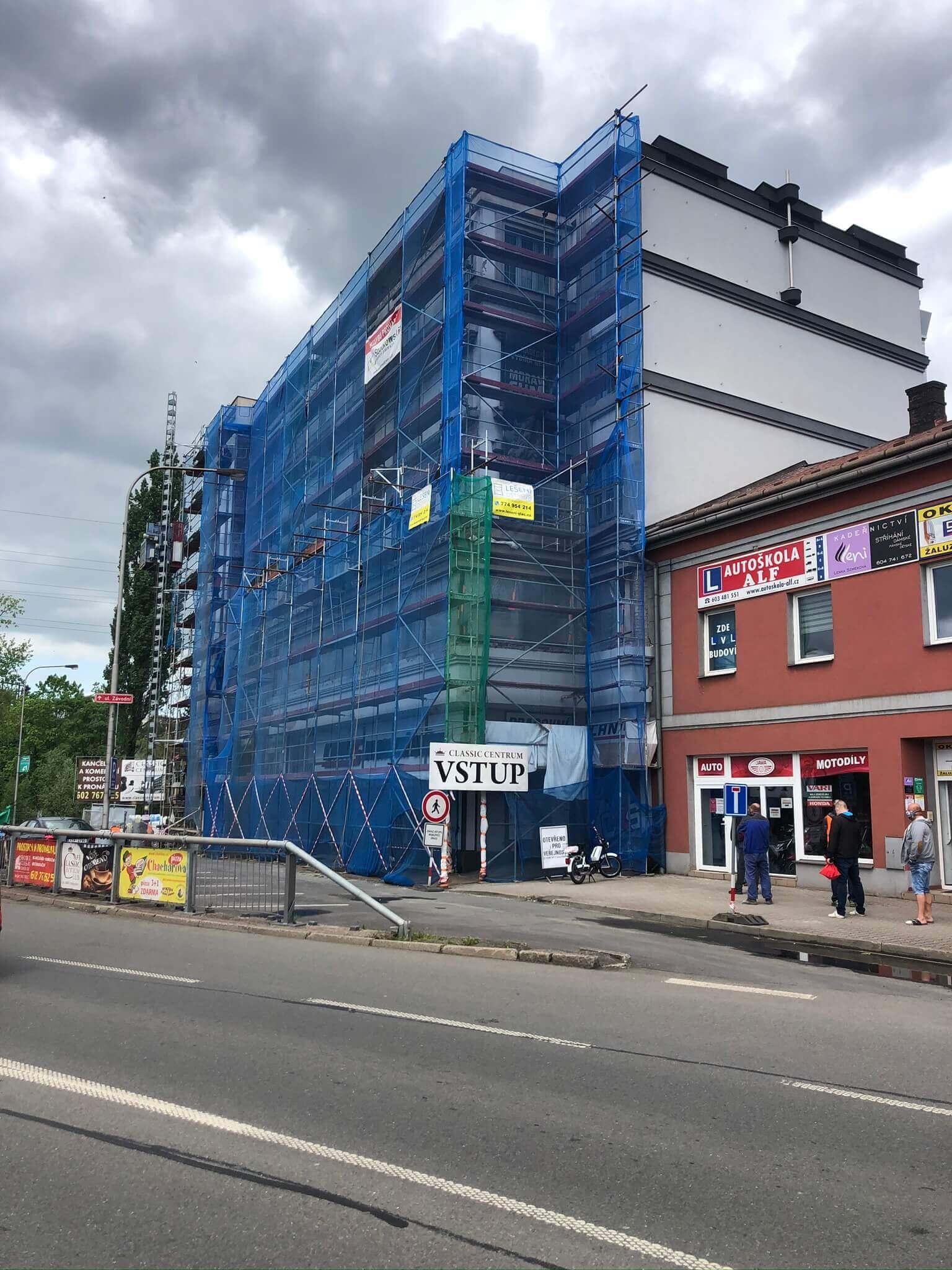 Lešení Ostrava